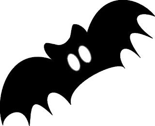 Free Screechy Bats Halloween Wallpaper
