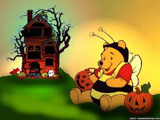 Halloween Winnie the Pooh wallpaper