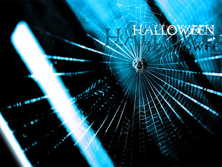 Halloween Spider Web Wallpaper
