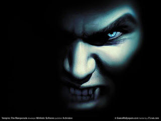 Halloween Vampires Desktop Wallpaper