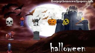 Happy Halloween PSP Themes