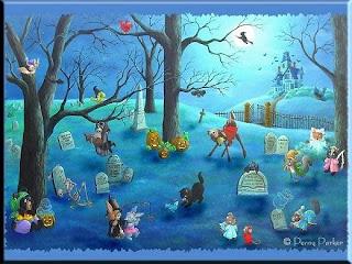 Halloween Wallpaper: September 2009