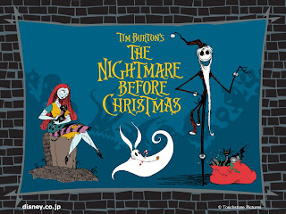 Nightmare Before Christmas Halloween Wallpaper