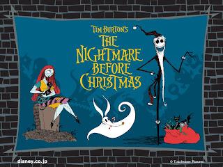 Nightmare Before Christmas Halloween Wallpaper