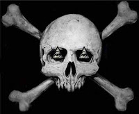 skull bones halloween wallpaper