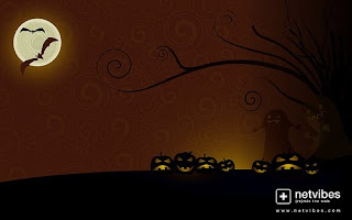 Free Halloween widescreen Wallpaper