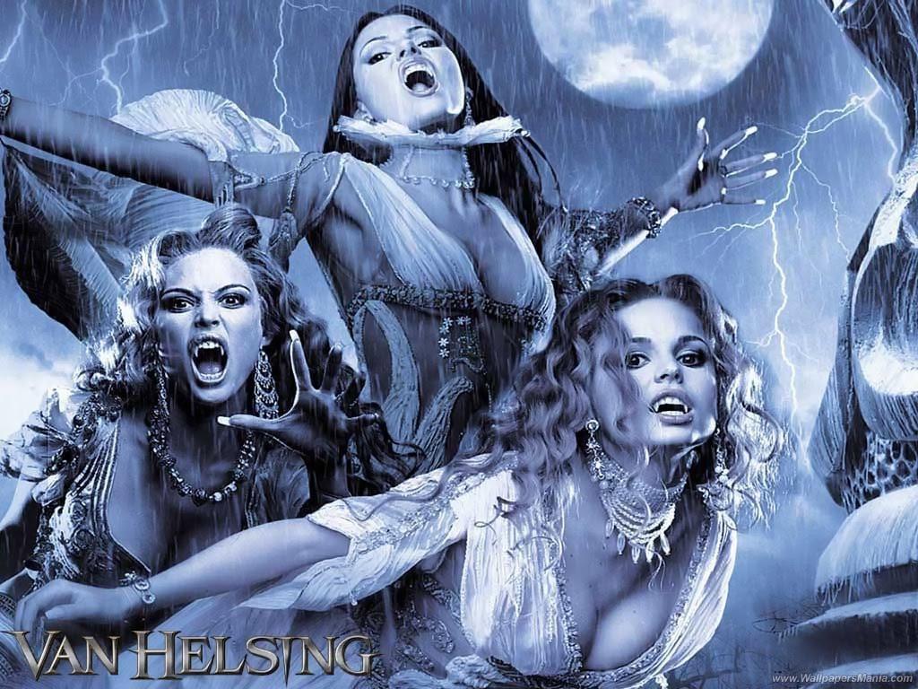 halloween free wallpapers  vampires wallpaper