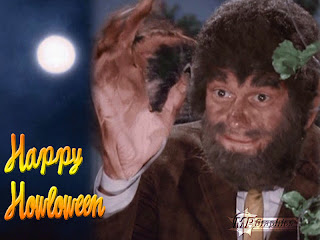 bewitched wolf halloween wallpaper
