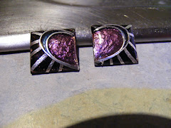 Hidden Heart cufflink to be