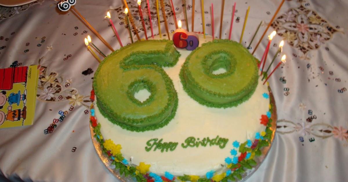 Naina S Recipes 60th Birthday Cake