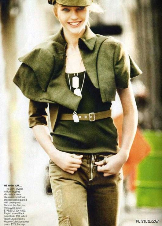The Modern Sophisticate Combat Fashion Military Inspired Trend