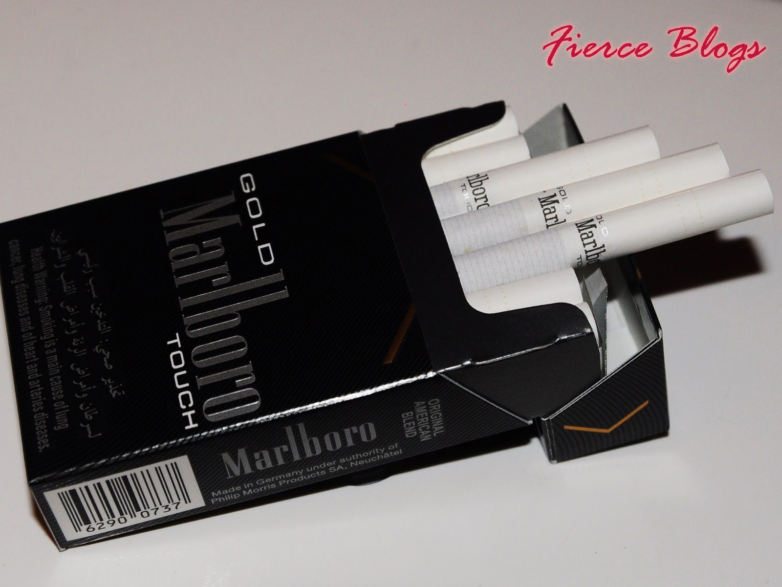 قیمت سیگار سناتور Fierce Blogs: Gold Marlboro Touch