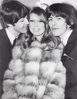 and and and marrying a beatle isn t half badGeorge Harrison And Pattie Boyd Wedding