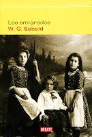 Los emigrados. WG Sebald. Debate, 2002