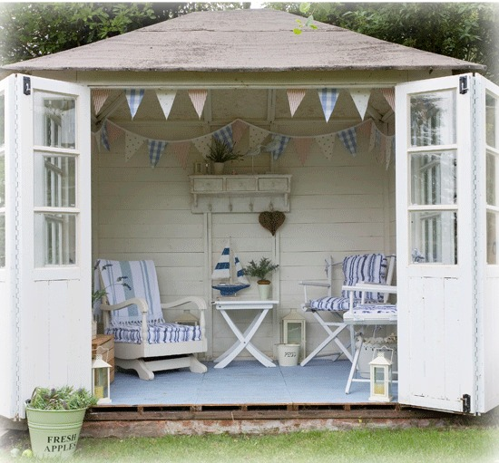 Garden Sheds Galore passionate for white: garden sheds galore!