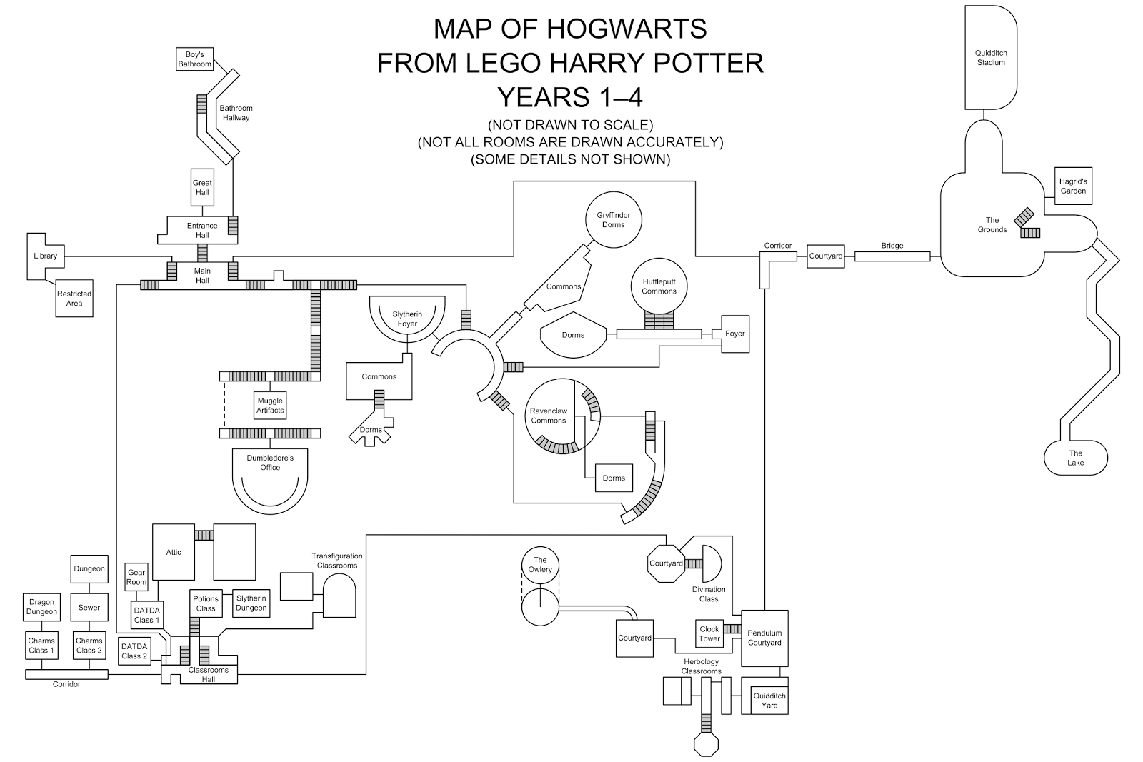 Attractive If Youu0027re Looking For A Map Of LEGO Harry Potter Years 5u20137, See Here.