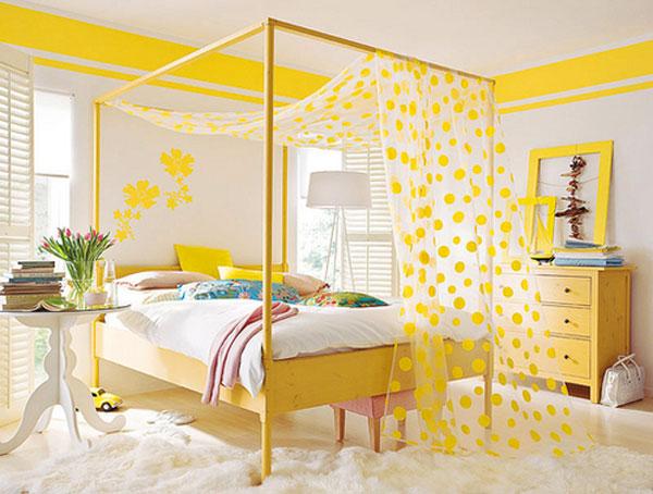 decoracao de quarto de bebe azul e amarelo:Mil Ideias de Decoração: Decoração para Quarto Amarelo