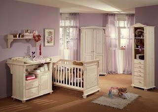 Promofever: decoração lilás em quarto de bebé