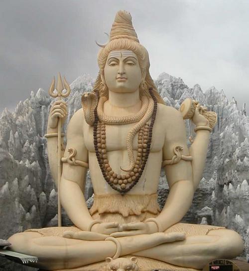 pics of god shiva. Shiva Statue in Shiv Mandir