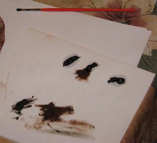 Тонировка масляными красками 3