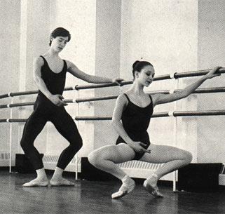 La danse classique for Barre danse