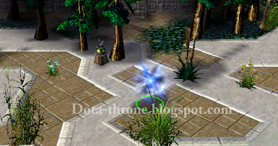 Dota Throne Defance Of The Ancients Io The Guardian Wisp Guide