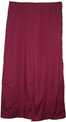 #23 Burgundy Wide Leg Pants