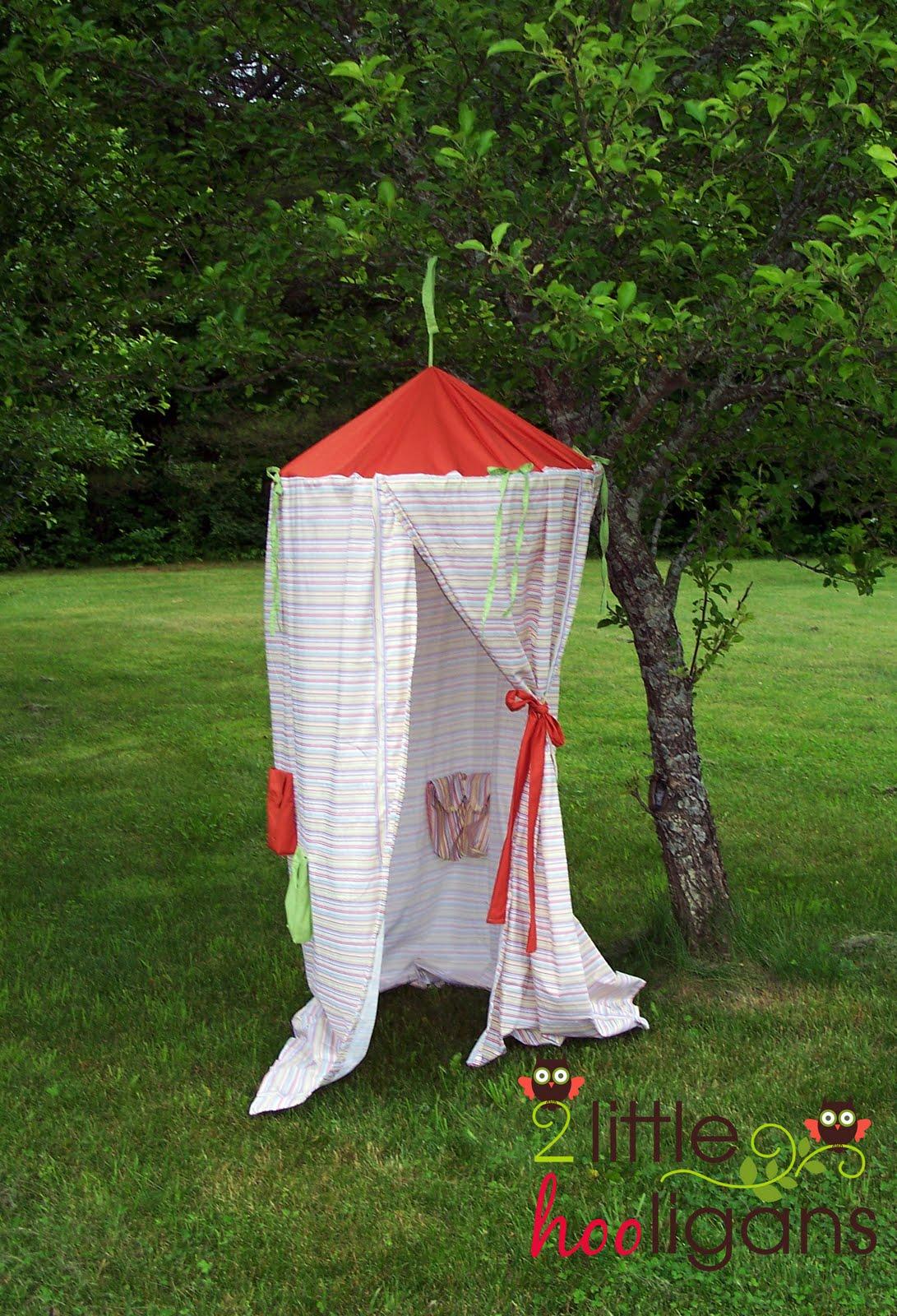 Шатер палатка для детей своими руками