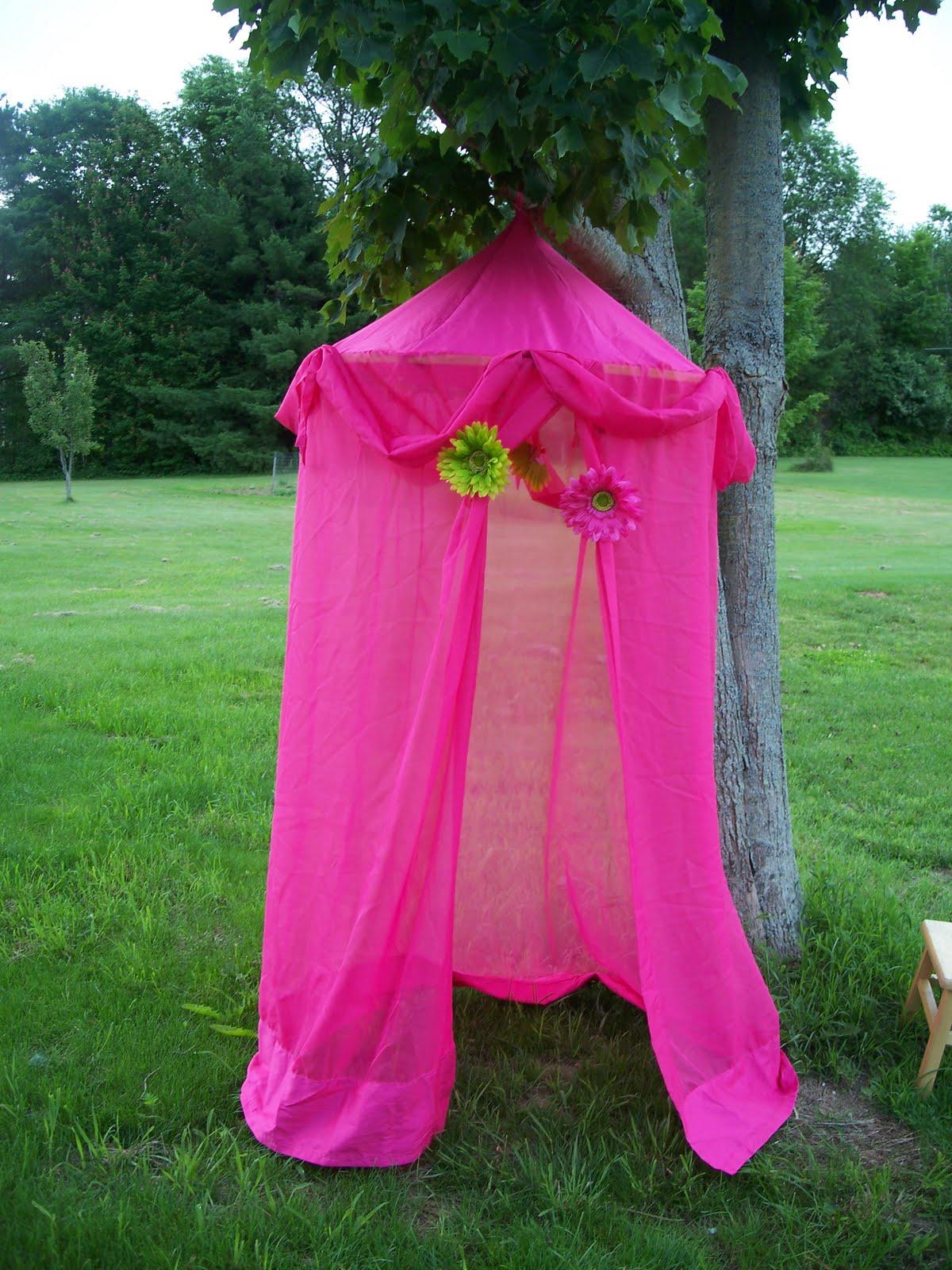 Как сделать ребенку палатку