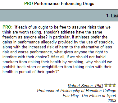 professional athletes and enhacer drugs For some athletes, the risk of losing—or even being less than the best—is worse than the many consequences of doping in professional sports, and for decades, performance-enhancing drug.