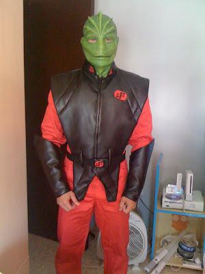disfraces de v invasion extraterrestre