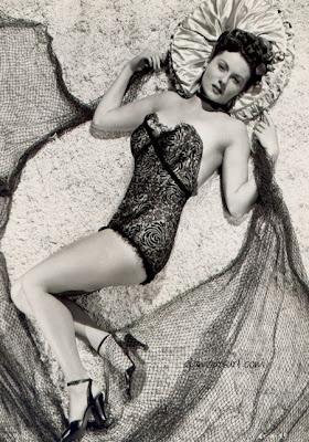 Rhonda Fleming sexy