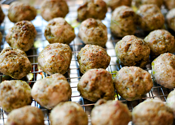 how to make healthy turkey meatballs without breadcrumbs