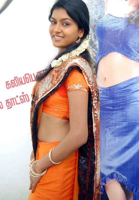 akshida in saree unseen glamour  images