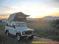 Want to rent our Defender with roofshelter?