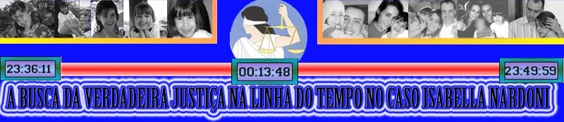 A Busca da Verdadeira Justiça na Linha do Tempo no caso Isabella Nardoni