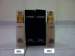 MAC-Foundation ( Dark / Natural / White )