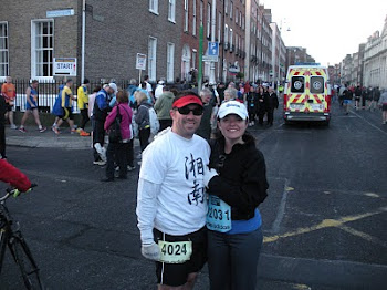 Running the Dublin Marathon without heart failure