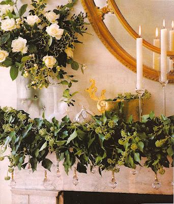elegant holiday style mantelpiece decorations