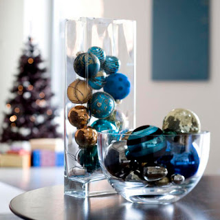 modern holiday table decorations