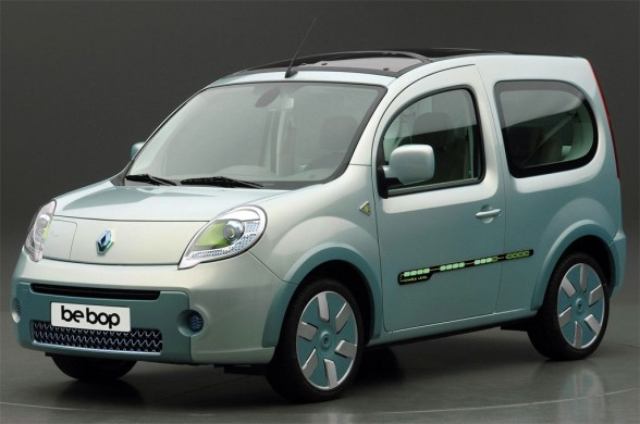 New Model Cars 2009 Renault Kangoo Be Bop Ze