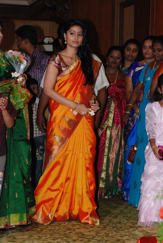 Sneha at SSR Son Wedding Reception