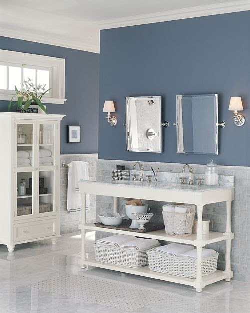 Made In Heaven: Pottery Barn Baderom