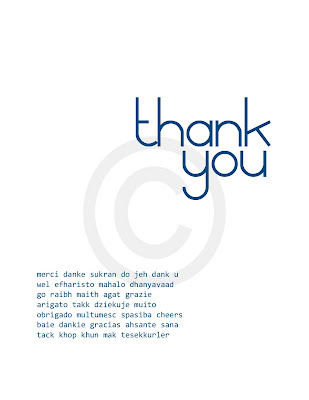 thank you card designs. Say thank you with printable