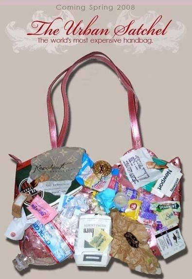 ESPETACULOSO: A segunda bolsa mais cara do mundo é feita de lixo