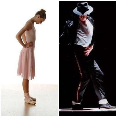 Bailarina X Michael Jackson