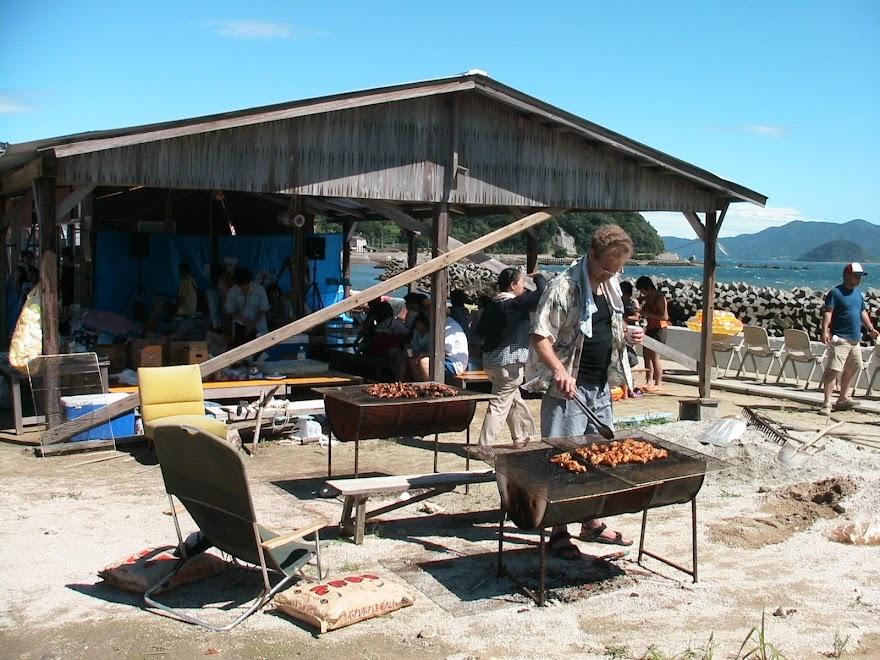 2007 Birthday BBQ on Oshima Island