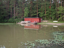 Boathouse on Lake Linnea