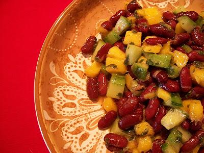 salades de fèves