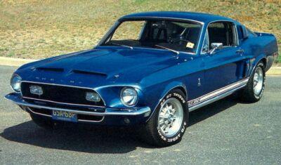 Ford Mustang 1968. Motori: